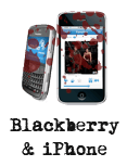 Blackberry & iPhone