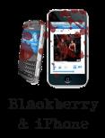 Blackberry & iPhone