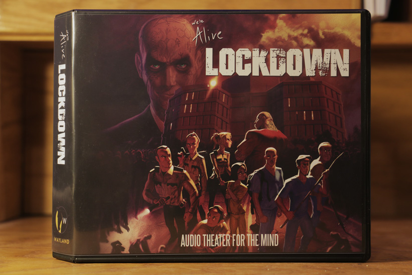 We're Alive: Lockdown LE cover