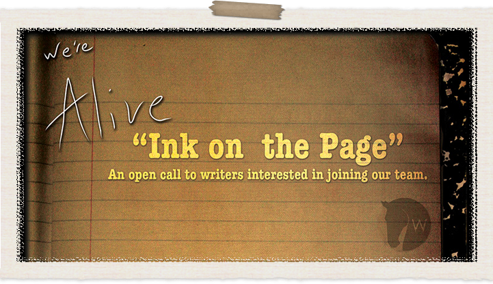 Ink on the Page Writing Contest Informational Page