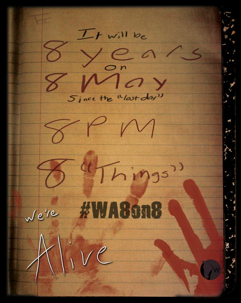 8Years#WA8on8