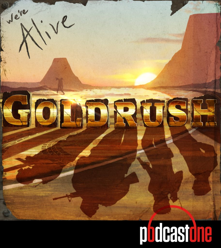 We're Alive: Goldrush Cover Art